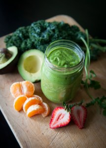 Green Fruit & Vegetable Smoothie
