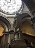 Michelangelo's David at the Galleria Del'Accademia in Florence
