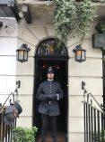 In front of Sherlock Holmes' house! 221B Baker Street