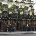 The churchill arms bar in West London