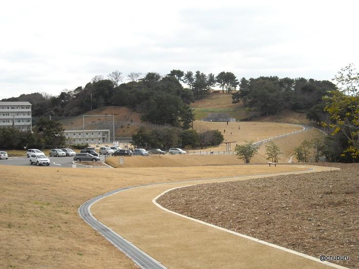 老の山公園風の丘ゾーン