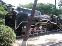 D51型蒸気機関車(ときわ公園)