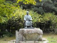 狩野芳崖像(覚苑寺)