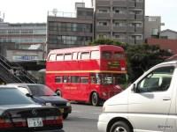 ロンドンバス「ルートマスター」