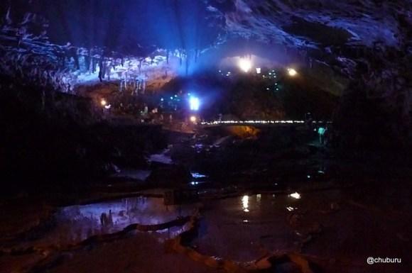 光響ファンタジー 水と大地の神秘(秋芳洞) その6傘づくし