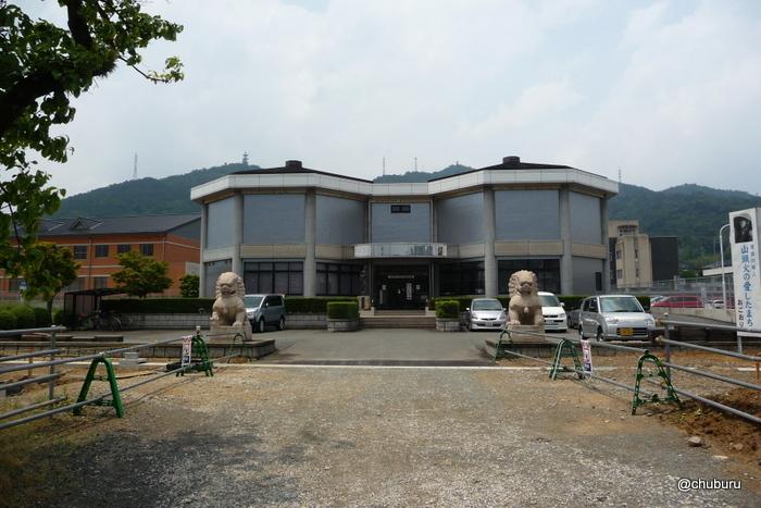 山頭火句碑(山口市小郡文化資料館)