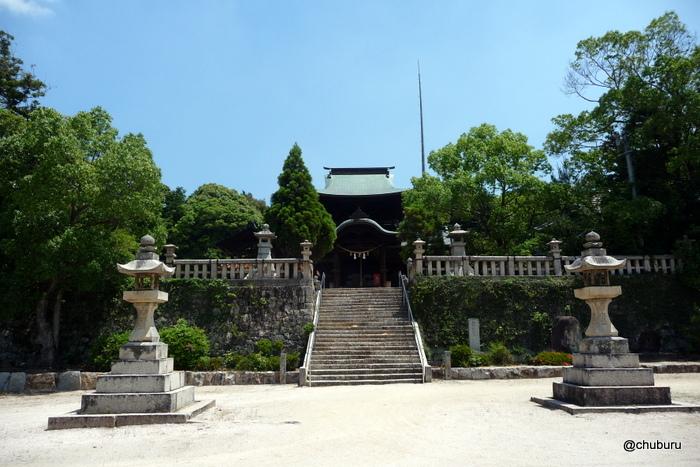 黒山八幡宮(山口市鋳銭司)