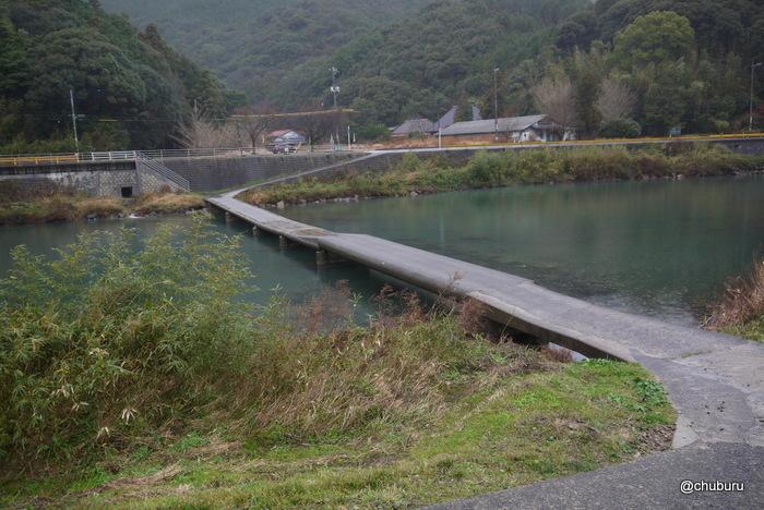 粟野川の沈下橋