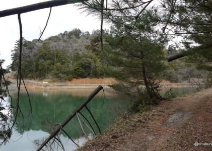犬の鳴き声だけが響く美祢の山立ダムに行ってきました。