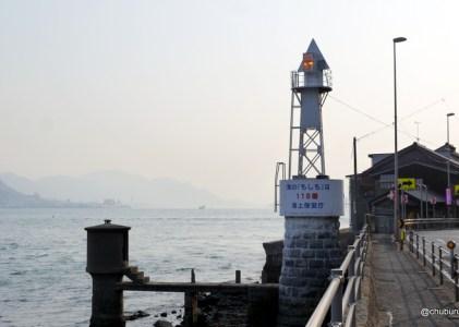 関門海峡を照らす下関導灯です。