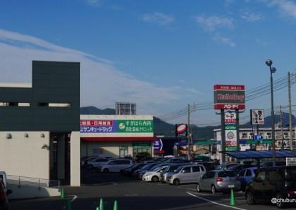 垢田の路地を歩く その3国道191号線に沿って垢田の辻方面に歩きます。