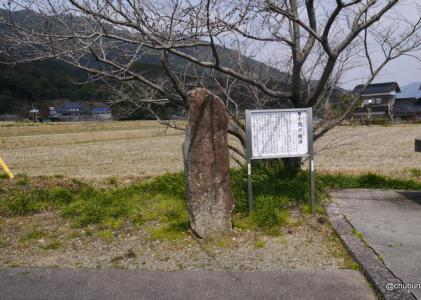 小鯖八幡宮 その1小鯖の板碑