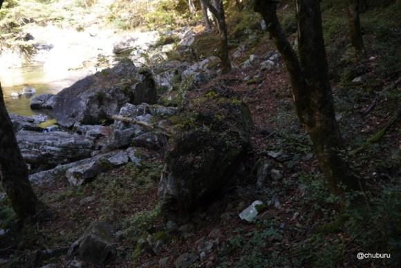 三段峡その2赤滝