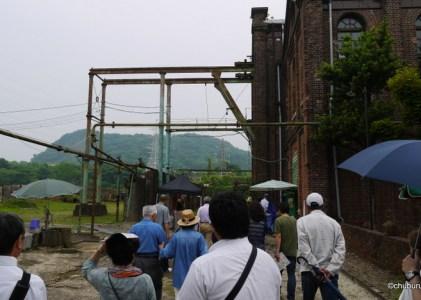 人で溢れる前に行ってきたよ、三池炭鉱万田坑。その4第二竪坑巻揚機室