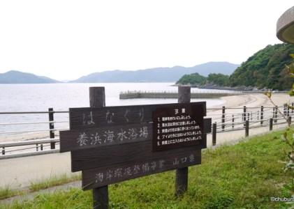笠戸島に行ってきた。その5はなぐり海水浴場の遊歩道