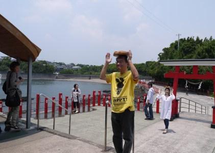 初夏の鹿児島ニッチな旅 その3何かいいことあるかな釜蓋神社
