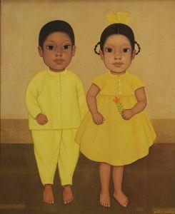 Niños por Gustavo Montoya