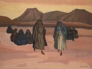 """""""Paseo"""" óleo por Gustavo Montoya en www.artnet.com"""