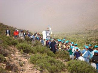 Bajando de Punta Corral (Alejandro G. Belasques, 2008)