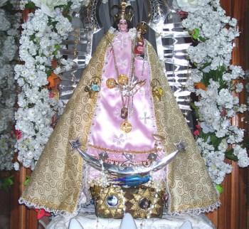 Virgen de Copacabana de Punta Corral (www.puntacorral.blogspot.com.ar, 2012)