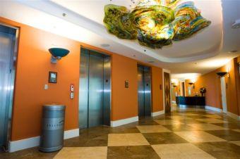 First Floor Elevator Lobby