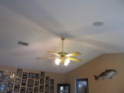 Volume Ceiling in Living Room