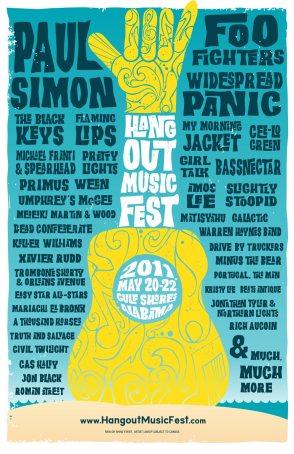 Hangout Music Festival Poster