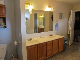 Master Bath His/Her Vanities