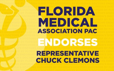 Florida Medical Association's PAC Endorses Republican State Rep. Chuck Clemons in House District 21
