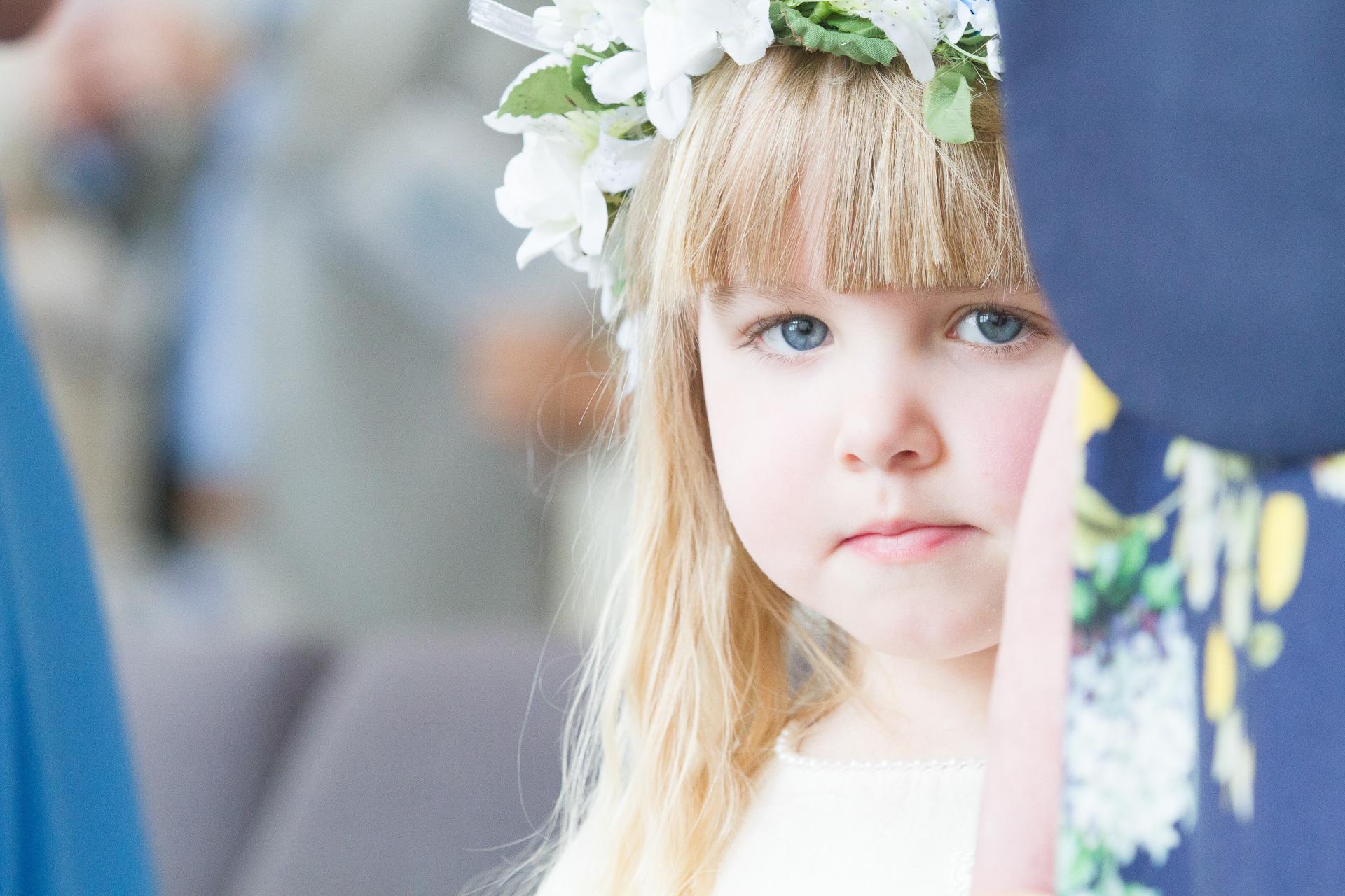 Sarah & Justin - Wedding Flowergirl