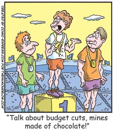 Budget Cuts Political Cartoon