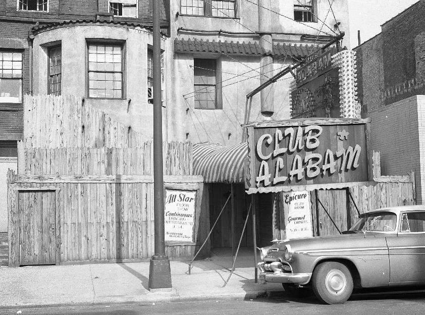 PHOTO CHICAGO CLUB ALABAM RESTAURANT AND FLOOR SHOW