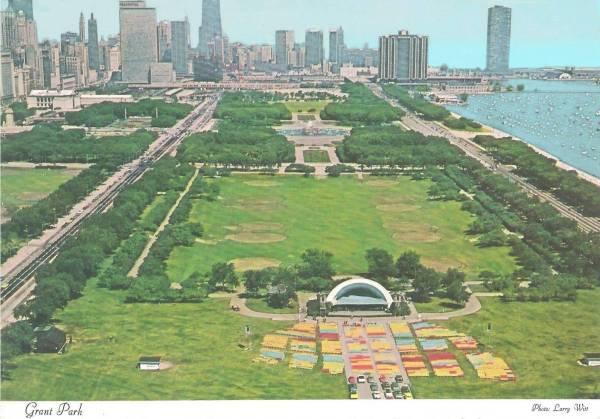 Chicago Grant Park Bandshell