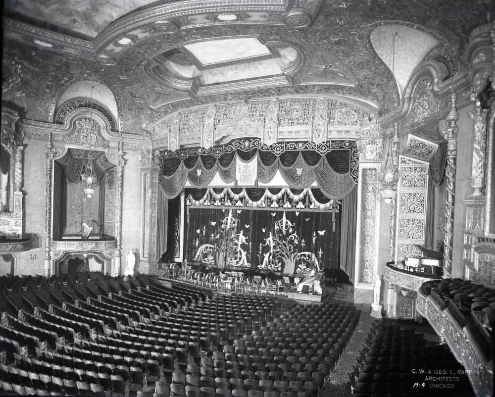 Auditorium Theatre Chicago Interior