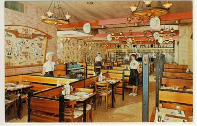 restaurant toronto interior places c1970 dreary winco postcard were they burger steak leave comment