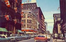 Postcard Toronto Yonge Street Of Queen