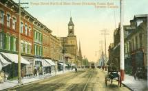 Postcard Toronto Yonge Street Of Bloor Yorkville
