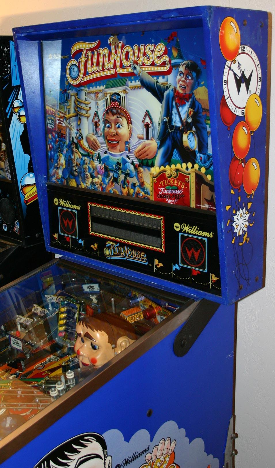 Wiring Harness Restoration Funhouse Pinball Pinball Restoration Video Games Video