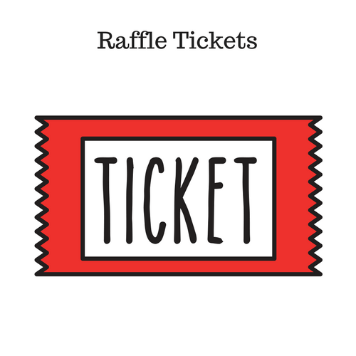 Raffle Ticket(s) (1-3) – Chucktown Showdown