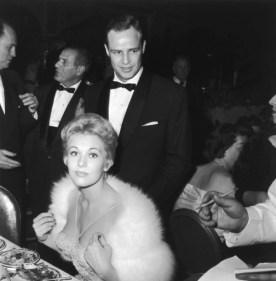 Kim Novak and Marlon Brando