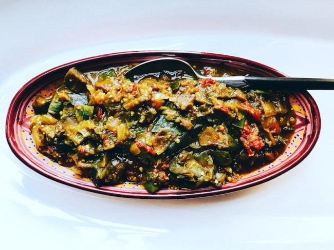 baingan bharta smoky mashed eggplant