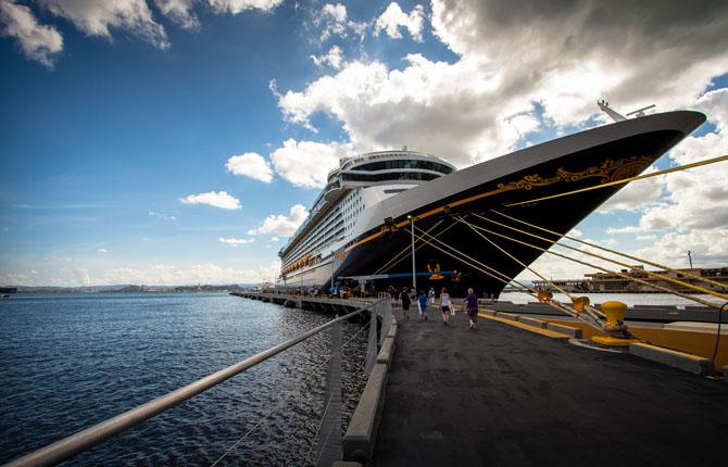 The Disney Fantasy: Port San Juan