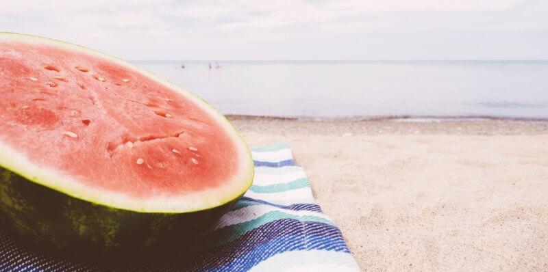 melón - melónová diéta