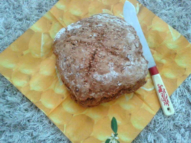 špaldovo mrkvový fit chlebík