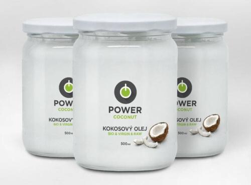 kokosový olej power
