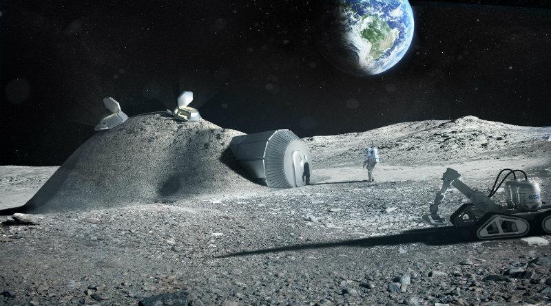 Лунная база | Фото: esa.int
