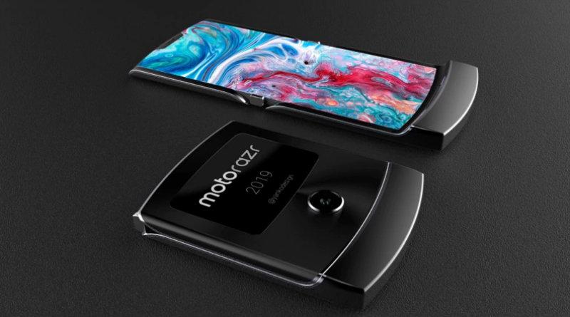 Складной Motorola RAZR