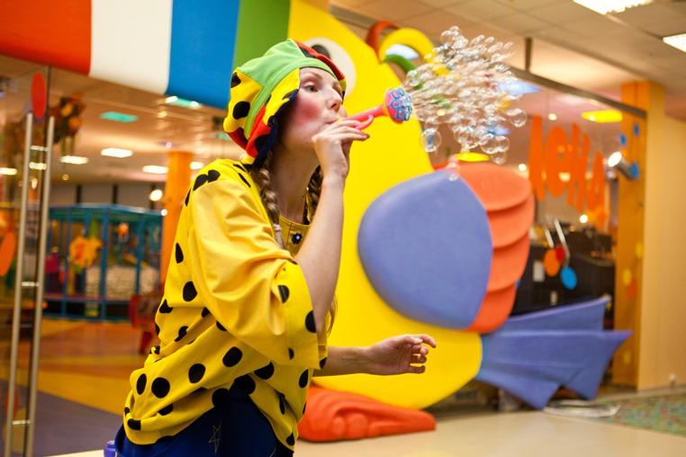 Шоу мыльных пузырей на детском празднике в Чудо-Чадо