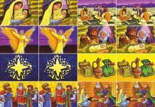 Игра-мемори «История Рождества»