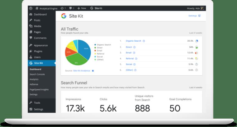 全新Google Site Kit WordPress 插件设置与优化教程 1